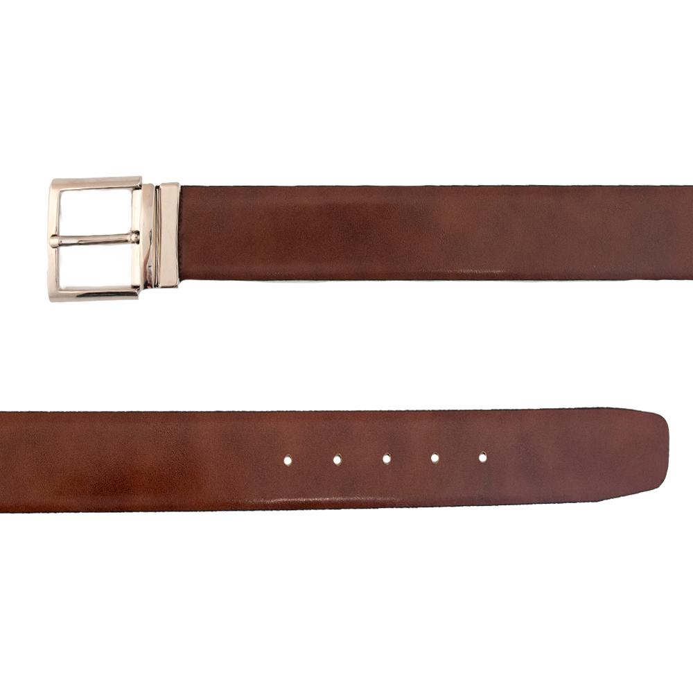 Leather  Brown  &  Blu  Doubleface