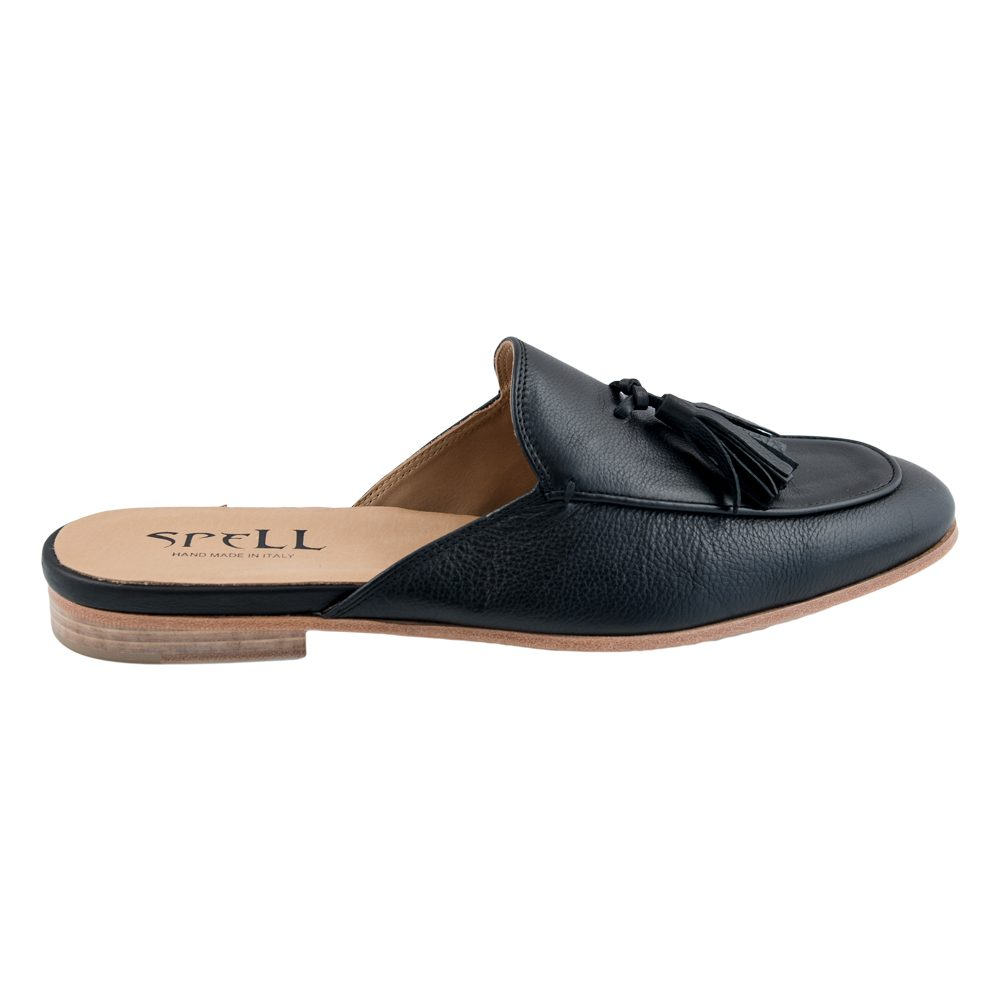 CUIR NERO Slippers