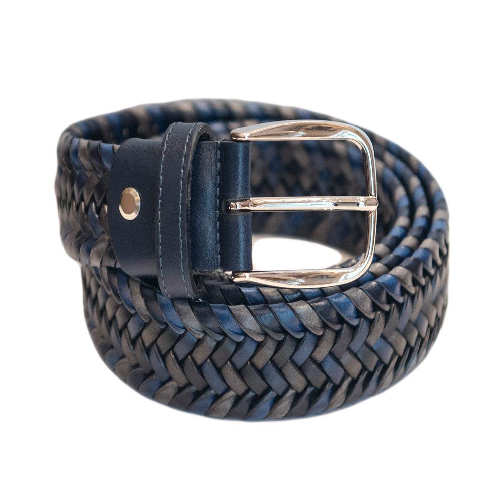 Leather Multicolour BLUE  Elastic