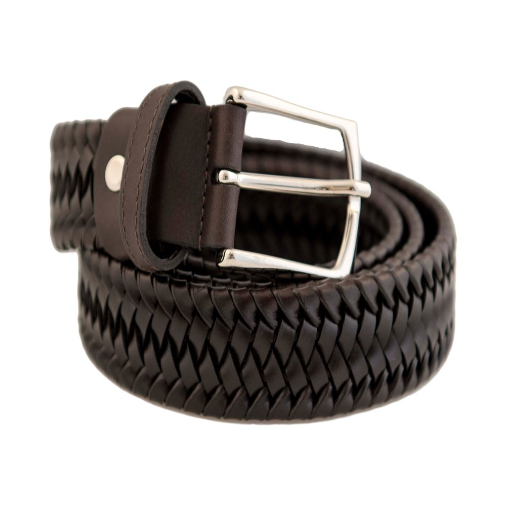 Elastic Leather Brown