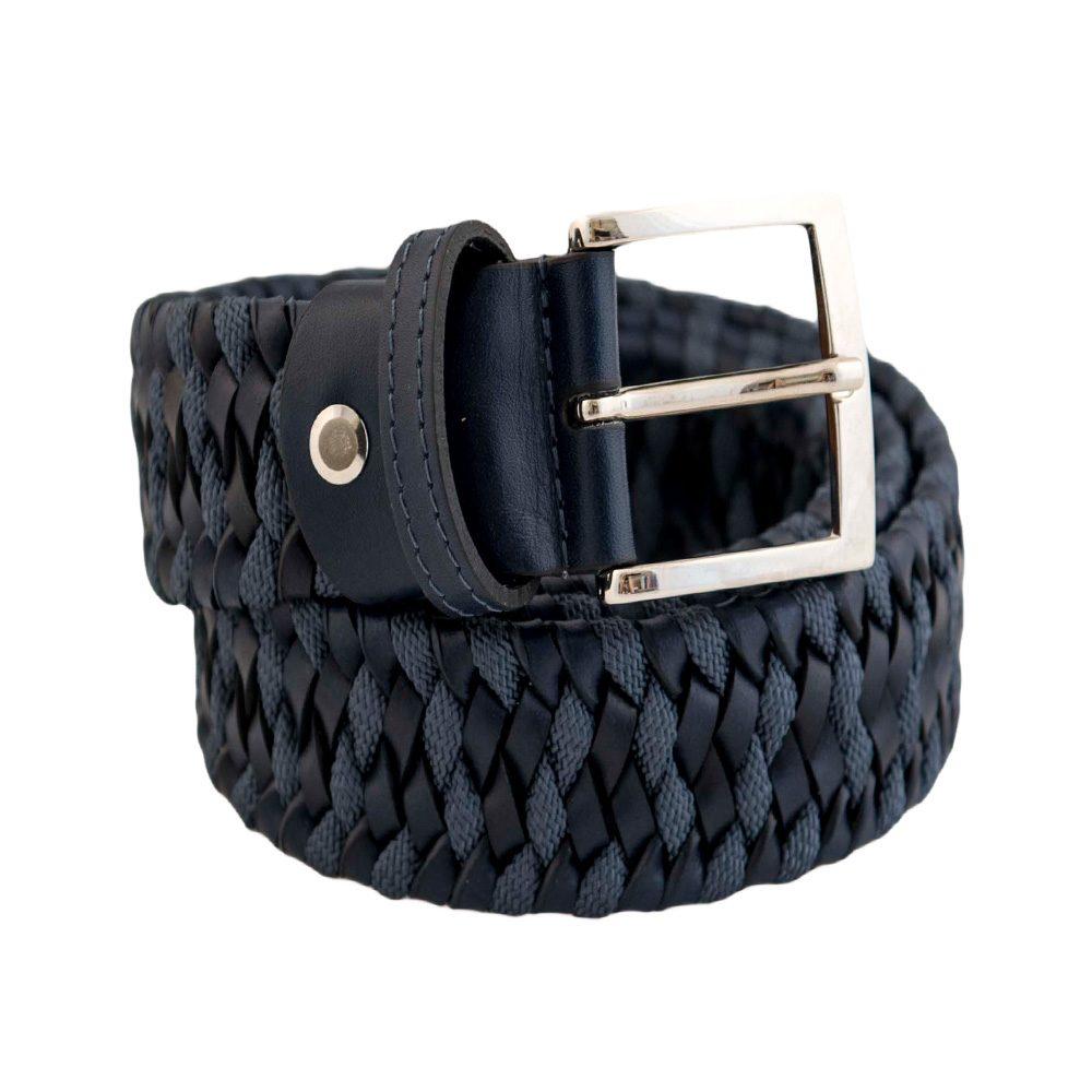 Elastic Blue leather