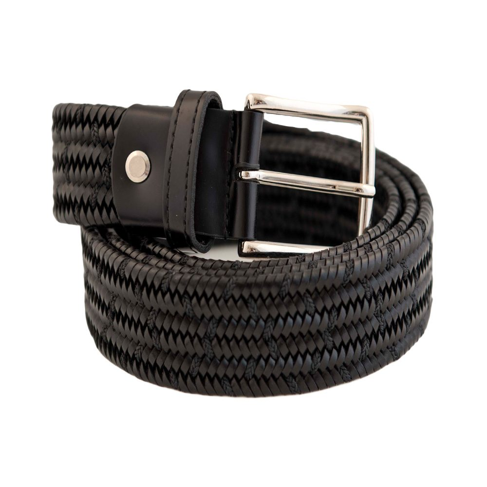 Leather Elastic Brown