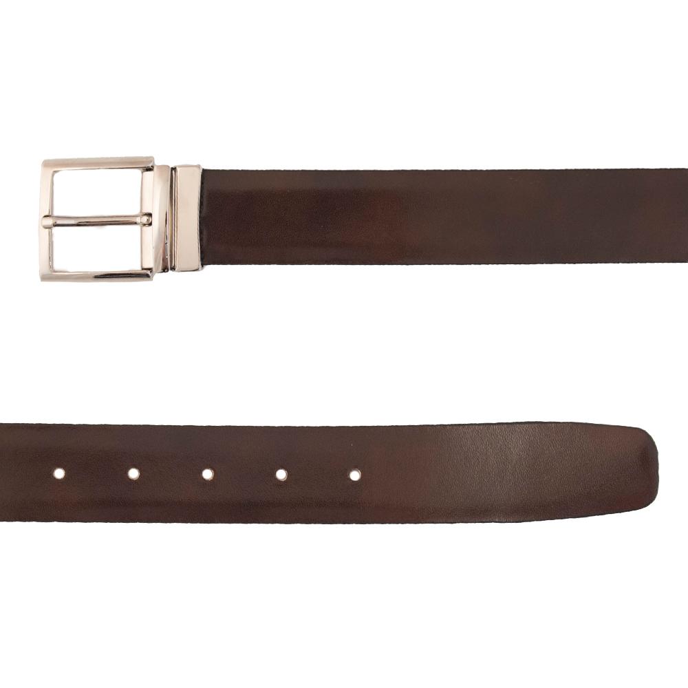 Leather Blu &Brown Doubleface
