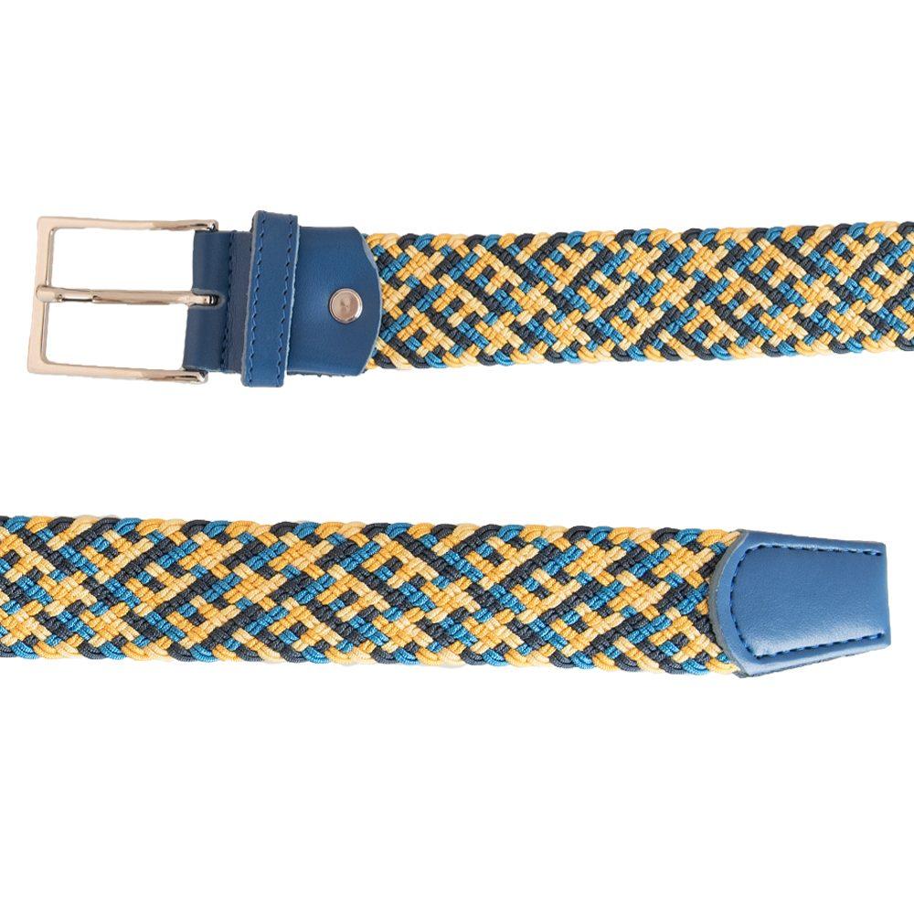 Elastic Blu & Yellow